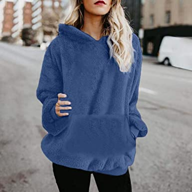 Firally Robe Pull Femme Hiver Sweat /à Capuche Sweatshirt Longue Hoodie Casual Manches Longues Impression de No/ël Automne Hiver D/écontract/é Chic Ample Haut Sweat-Shirt avec Poche Pullover