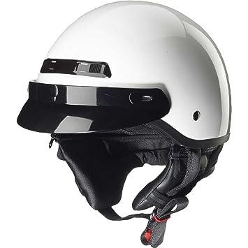 ZOX baños STG Solid casco brillante blanco XL