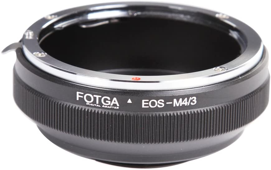 Mount Mirrorless Camera Body FocusFoto FOTGA Adapter Ring for Canon EOS EF EF-S Lens to Olympus PEN and Panasonic Lumix Micro Four Thirds MFT, M4//3