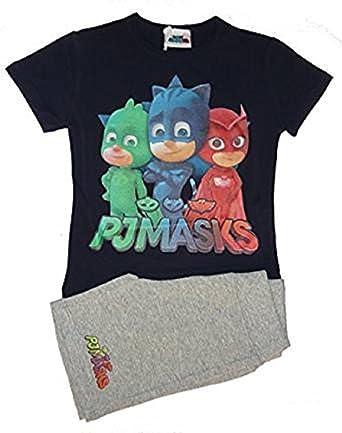 PJ Masks Super Heroes en Pijamas Camiseta y Pantalone ...