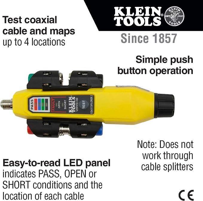 Klein Tools Coax Explorer 2 Mit Remote Id Kit Baumarkt