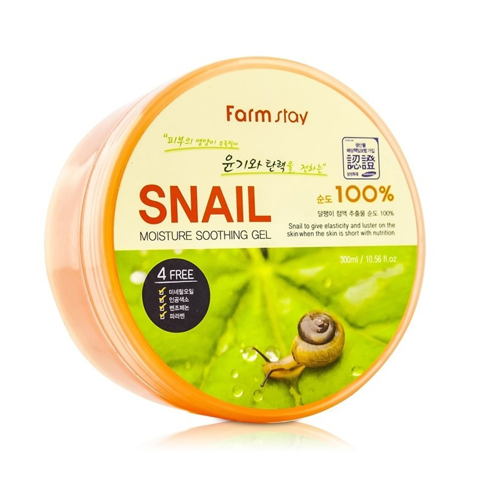 Farm Stay Korean Snail Moisture Soothing Gel The Saem 300ml 1056oz Beauty
