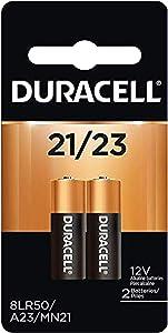 2pk Duracell MN21 Alkaline 12V Battery A23 MN21 23AF 23AE V23GA GP23A L1028