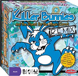 Killer Bunnies and the Quest for the Magic Carrot - Remix Edition - Over 300+ Handpicked Cards From All Sets