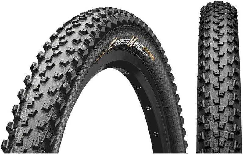 Continental Cross King Neumáticos para Bicicleta, Unisex Adulto, Negro, 26 X 2.00