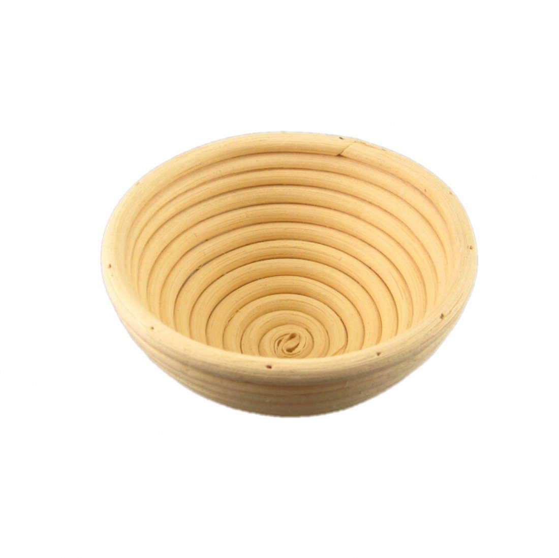 CHENGYIDA 10PCS 5''(13cm) Small Round Rattan Banneton Brotform Bread Proofing Proving Basket