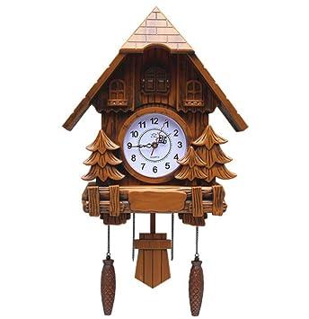 Olici Decoración De Arte De Pared/Alta Precisión El Reloj De Cuco De Pared Color Pastoral Dibujos Animados Sala Comedor Habitacion De Los Niños Cuidado con ...