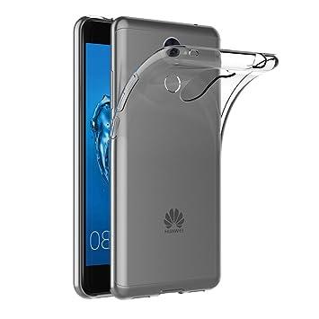 AICEK Funda Huawei Y7 Prime/Huawei Y7, Transparente Silicona Fundas para Huawei Y7 Carcasa Silicona Funda Case (5.5