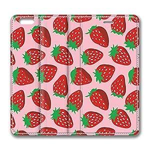 Brian11iphone 5c iphone 5c case, iphone 5c Flip Case, iphone 5c Case Cover - PU Leather Flip Folio Wallet Case Cover for iphone 5c - Pink Strawberry
