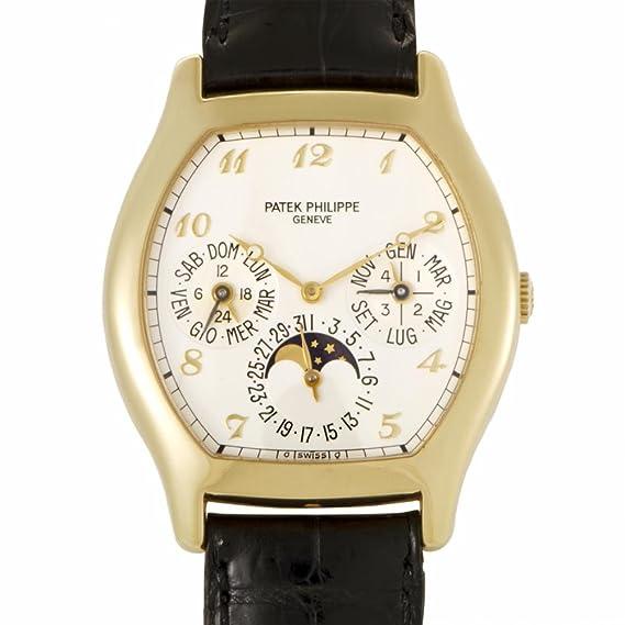 PATEK PHILIPPE automatic-self-wind Mens Reloj 5040j (Certificado) de segunda mano: Patek Philippe: Amazon.es: Relojes