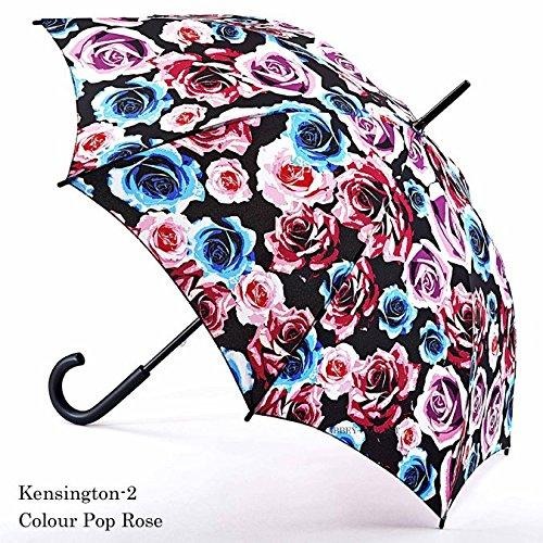 フルトン FULTON 傘 レディース Kensington 長傘 女性用 かさ Colour Pop Rose ギフト fultonl056colourpoprose B01F8AYASO