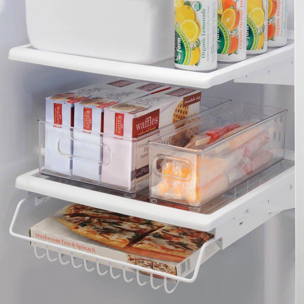 Amazon.com: InterDesign Refrigerator Or Freezer Storage Bin U2013 Food  Organizer Container For Kitchen   Deep Drawer, Clear: Home U0026 Kitchen