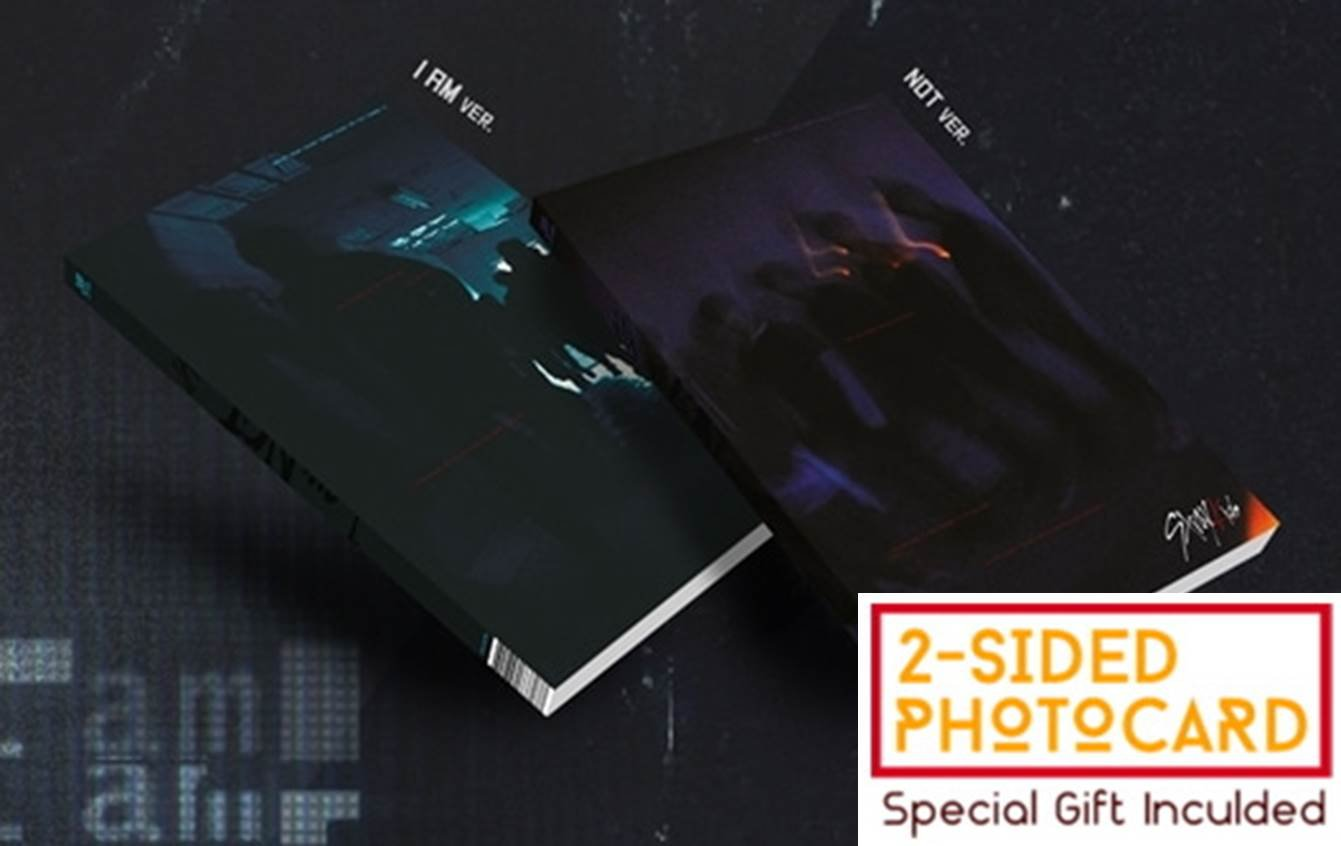 JYP Entertainment STRAY KIDS - I am NOT [Random ver.] (1st Mini Album) CD+Photobook+Official 3Photocards+Special double-sided photo cards