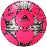 adidas Performance Finale 15 Capitano Soccer Ball, Pantone Pink/Solar Orange/Black, 5