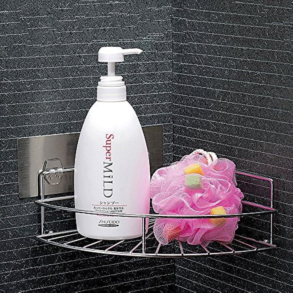 Shower bathroom shelves caddy corner shelf stainless steel - Bathroom corner caddy stainless steel ...