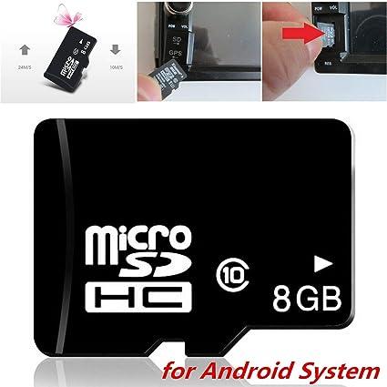 FidgetKute - Tarjeta SD de navegación con GPS (8 GB), diseño ...