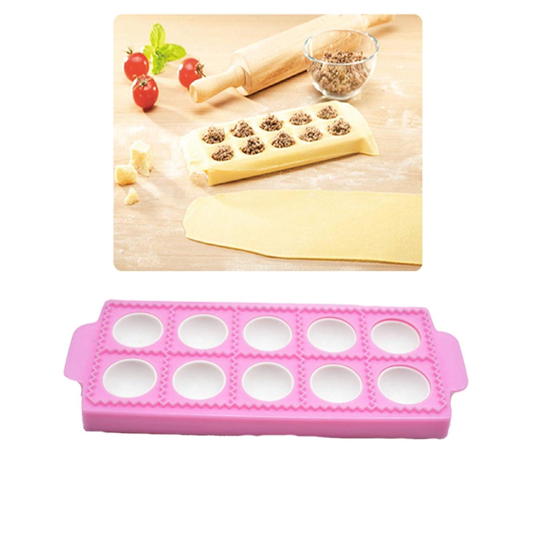 CHSEEO Raviolamp Pastamaker Stampo per Panzerotti Ravioli Pierogi e Pasta Tagliapasta Forme per Ravioli Mold Wraper Dumpling Maker e Dough Press Pasticceria Utensili #1