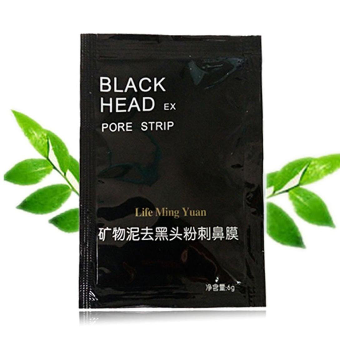 Remove Mineral Mud Blackhead Pore Cleansing Cleaner Removal Nose Membranes