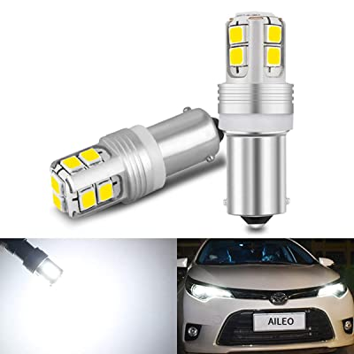 BA9S T4W Led Car Bulbs 6000K Xenon White Super Bright 620Lumens Canbus Error Free 12V 24V Reading Lights License Plate Light Reverse Lights 5 colors to choose: Automotive