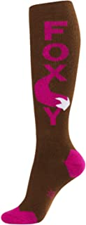 product image for Foxy Knee High Striped Tube Socks