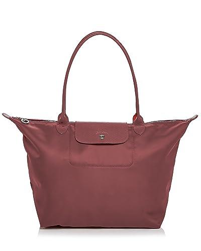 739898f31806d Longchamp Le Pliage Neo Tote Handbag (Wine  Opera)  Amazon.co.uk  Shoes    Bags