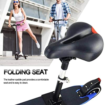 scooter Saddle Foldable Height Adjustable Shock-Absorbing Seat Chair for Xiaomi Mijia M365 Pro Electric Accessories: Sports & Outdoors