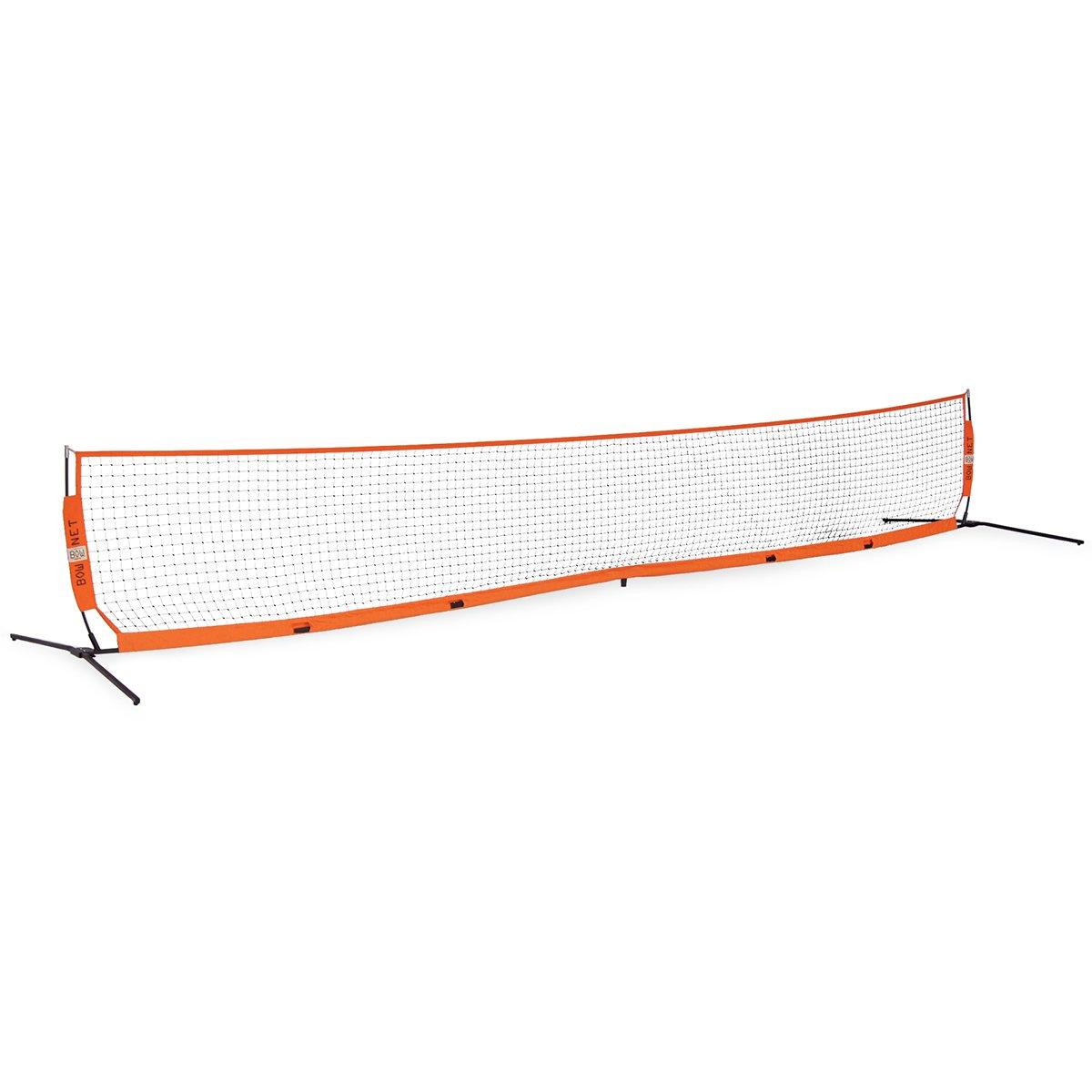 Bownet 12' x 3' Portable Barrier Net, Soccer Tennis Net, and Tennis Net