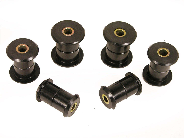 Prothane 7-1055-BL Black Rear Spring Eye and Shackle Bushing Kit