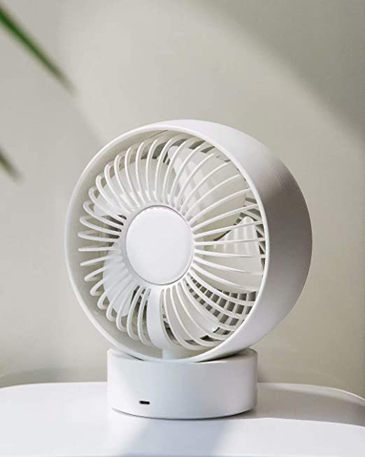 3 Speeds Desk Desktop Table Cooling Fan Powered by USB,Strong Wind,Quiet Operation,for Home Office Car Outdoor Travel Mini USB Desk Fan,Personal Portabel Cooling Fan