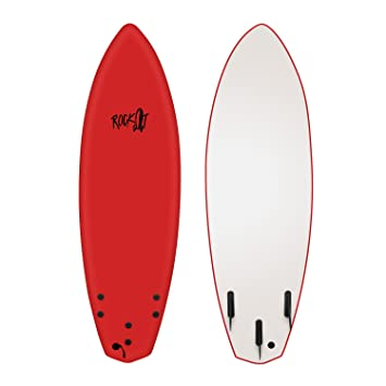 Rock-It 6 Esperanza Tabla de Surf Rojo