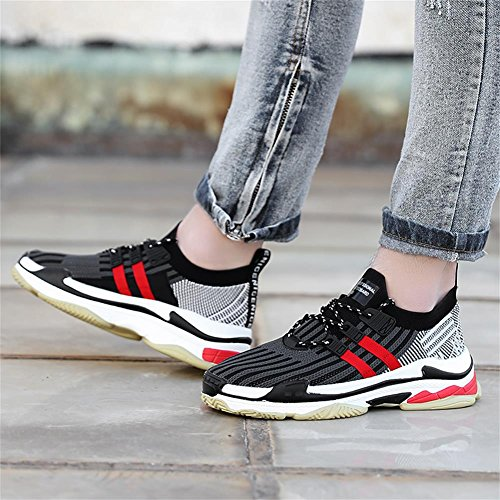 Mabove Chaussures de Running pour Homme noir/rouge VUpoi