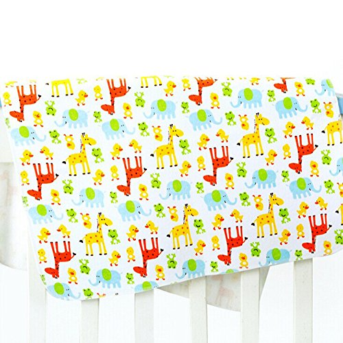 ZEAMO Baby & Toddler Waterproof Bamboo Fiber Flannel Washable Diaper Changing Mat Pad for Baby Cribs,stroller (31