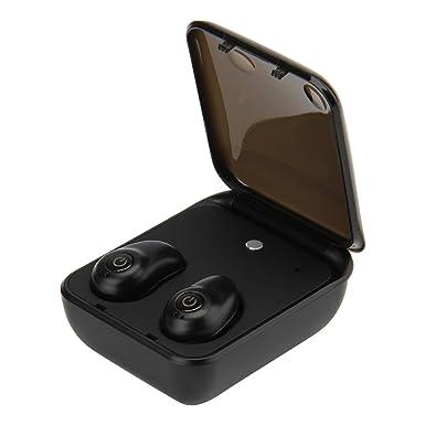 yipbowpt TWS True estéreo inalámbricos Mini auriculares, Inalámbrico Bluetooth 4.1 In-ear Binaural Auriculares