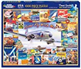 White Mountain Puzzles Come Fly with Me - 1000 Piece Jigsaw Puzzle