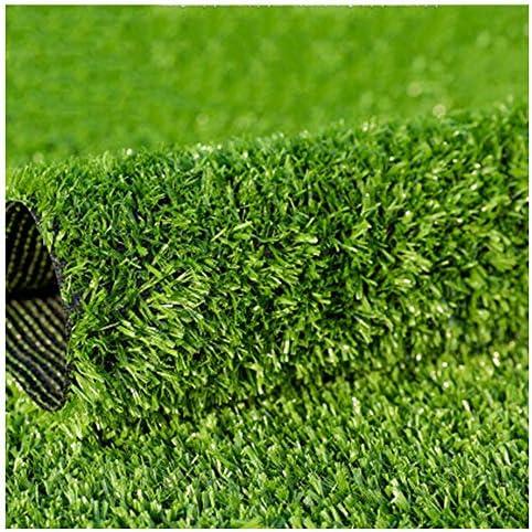 YNGJUEN 15ミリメートルパイル高人工芝、カーペットドアマットガーデン芝生高密度ホリデー芝生 (Size : 2x9m)