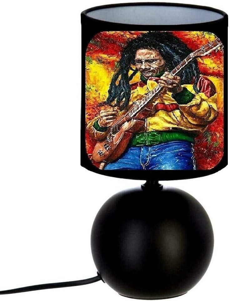 Lampe de chevet BOB MARLEY ONE LOVE cr/éation artisanale