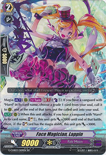 Face Magician, Lappin - G-CHB03/009EN - RR - G Character Booster 3: Rummy Labyrinth Under the Moonlight