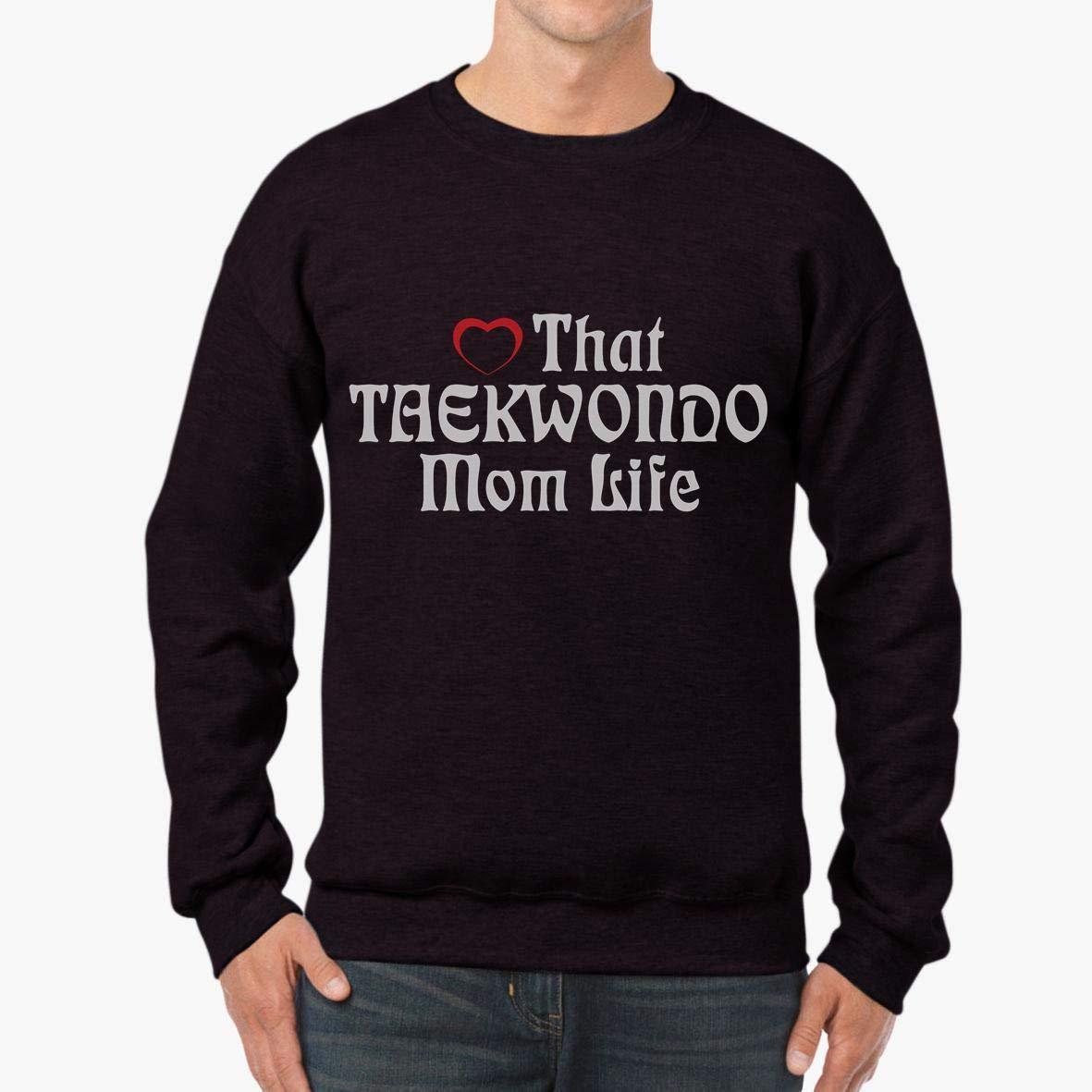 Doryti Heart That Taekwondo Mom Life Unisex Sweatshirt tee