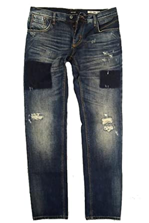 5689bc9ce2e Antony Morato Sonny Jeans Slim Fit - Blue - Large  Amazon.co.uk  Clothing