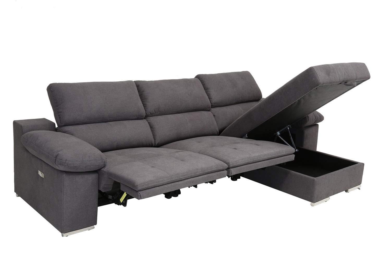 Amazon.com: Blackjack Furniture 7306-GRAY-PWR-RAF Valencia ...