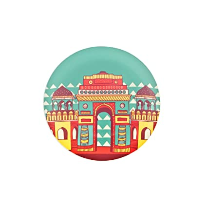 9948880c486 Buy Chumbak Fantasy Mahal Quarter Plate Online at Low Prices in ...