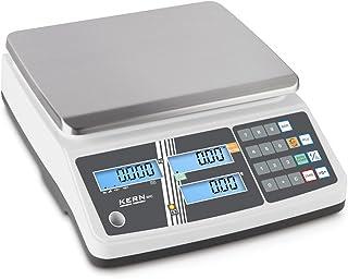 Il Carico Bilancia con approvazione e archiviazione posti per i prezzi degli Articoli [Kern RPB 6K1DM] precisione fino a 1G/2G, portata max. 3kg/6kg