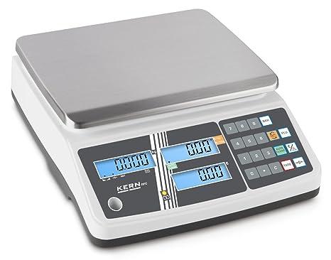 Carga Báscula con escaneado Autorización y memoria puestos para artículo Precios [Kern RPB 15 K2DM