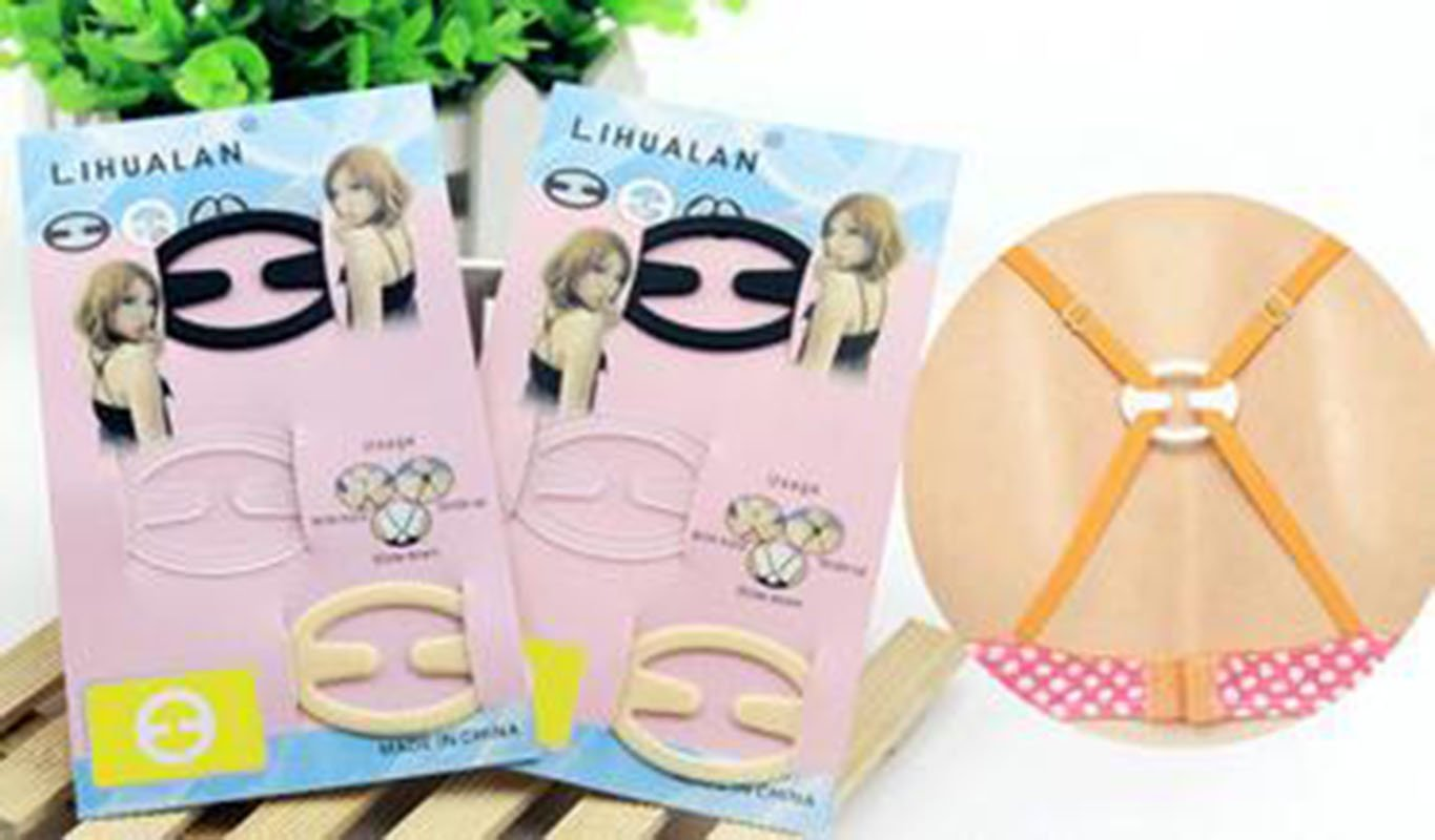 YOYOSTORE 9pc Bra Strap Clips C Conceal Straps for Full Cup Size