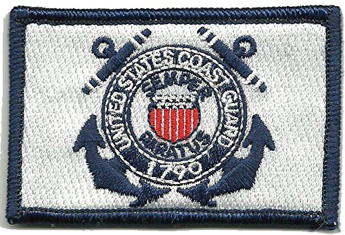 U.S. Coast Guard Tactical Patch - Color