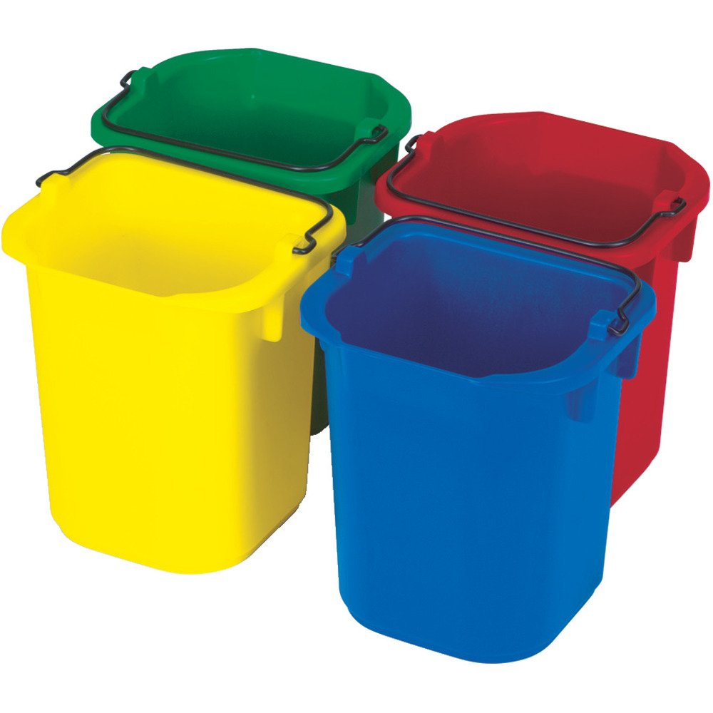 Rubbermaid Commercial Products 1857376 Heavy-Duty Cleaning Pail, 5 quart, Blue