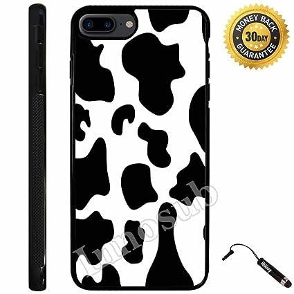 Amazoncom Custom Iphone 7 Plus Case Cow Print Edge To Edge