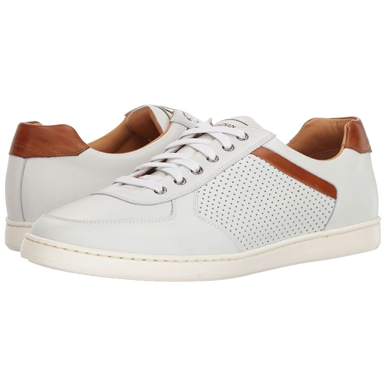 (マグナーニ) Magnanni メンズ シューズ靴 スニーカー Echo Lo Perf [並行輸入品] B07F6H8V2C