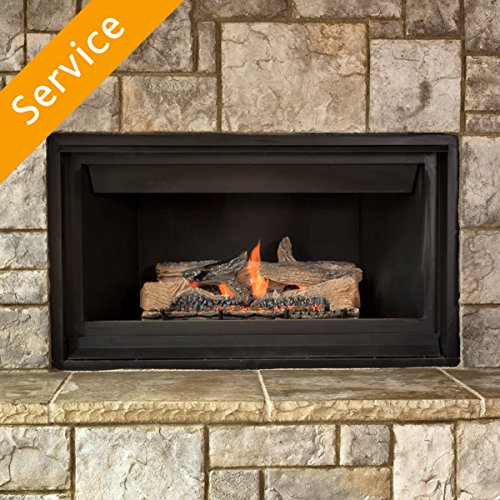 Gas Fireplace Insert Replacement - Existing Gas Supply (Gas Fireplace Insert Vent Free)