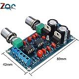 Paso bajo preamplificador filtro NE5532 subwoofer volumen proceso circuito amplifer tablero AC 9V-15V tablero